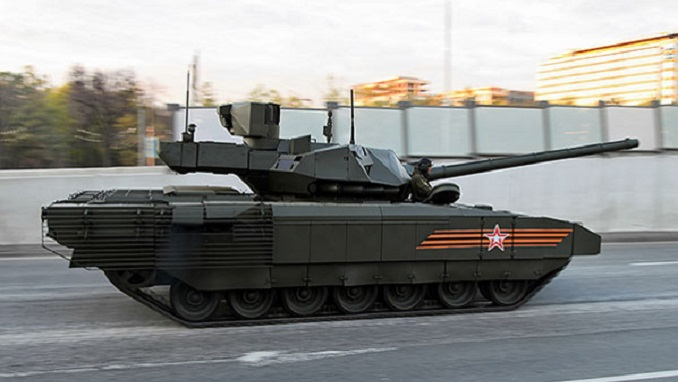 4a1ecb68fa94 Russian Deputy Prime Minister Yury Borisov has said that Moscow doesn t  plan to mass produce the next-generation T-14 Armata battle tank anytime  soon