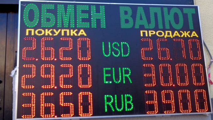 Putin Signs Law Banning Street Currency