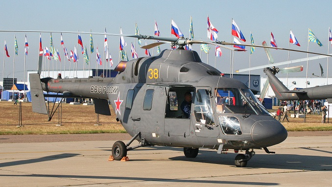 Russia Plans to Supply Ansat Helicopters to China - Russia